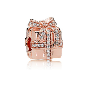 Giftbox charm by Pandora.