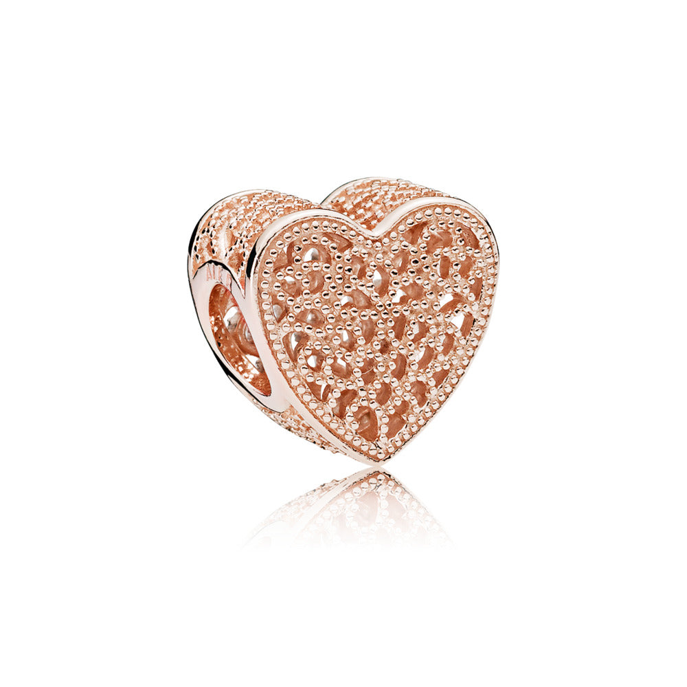 A charm called Filled With Romance by Pandora