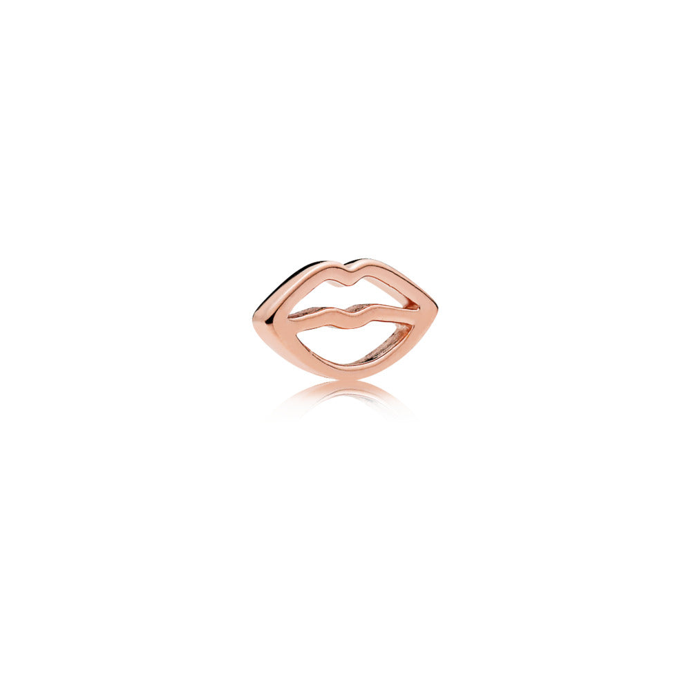Lips petite element in PANDORA Rose