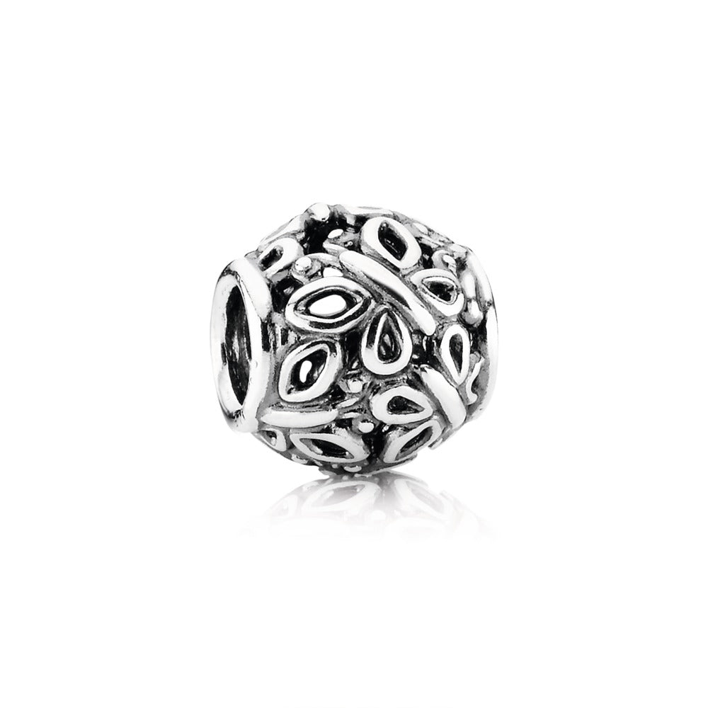 A butterfly charm by Pandora Jewelry here in Santa Fe.
