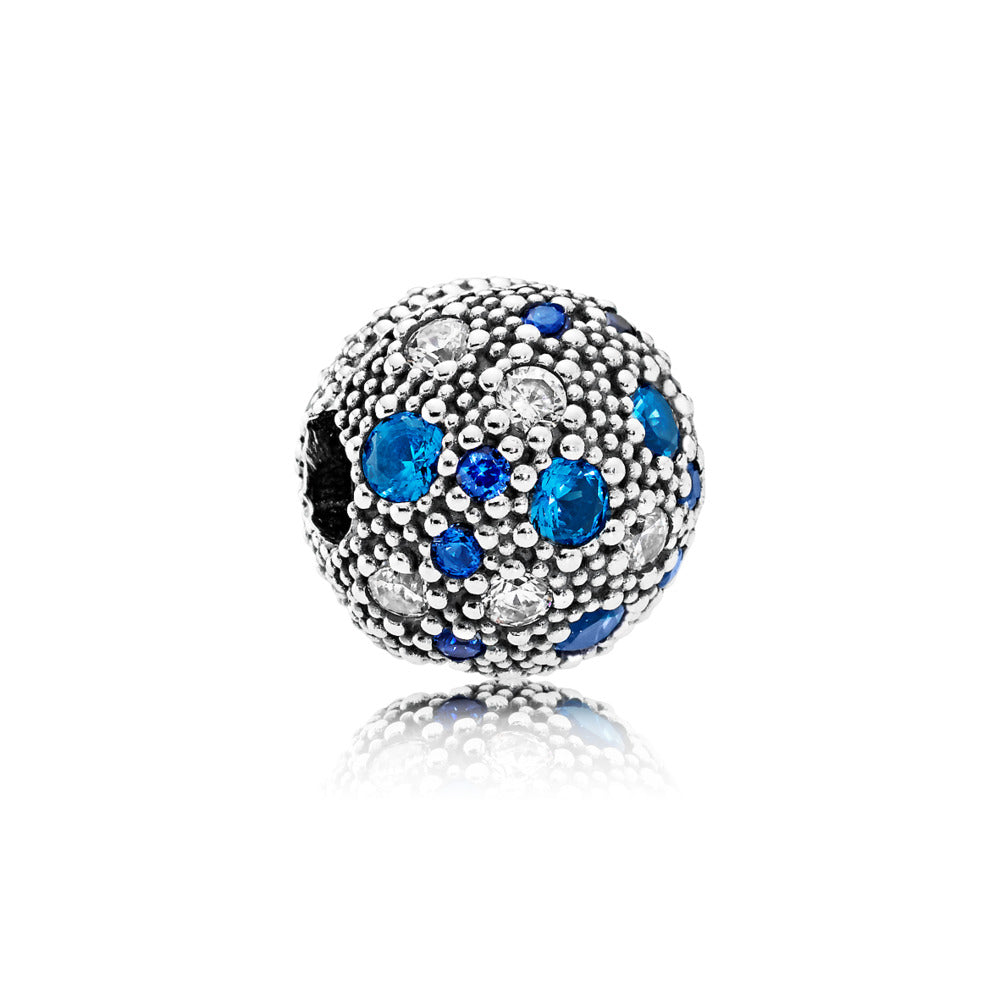 Cosmic Stars fancy blue cubic zirconia by Pandora.