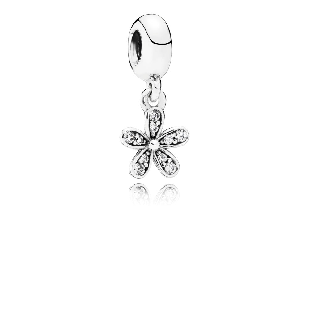 A dangling dazzling daisy charm by Pandora