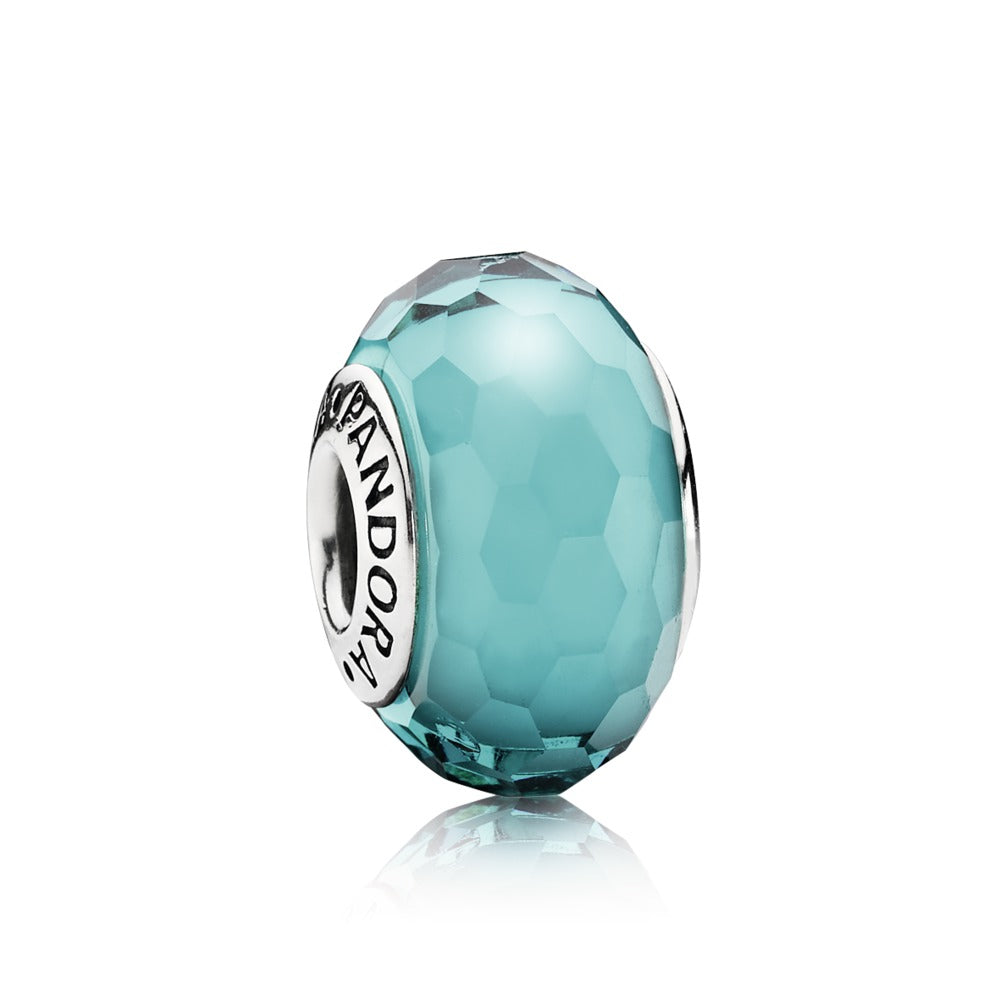 Fascinating Teal charm by Pandora.