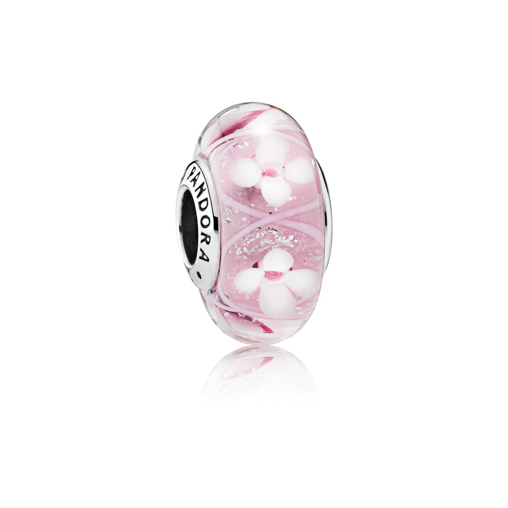A Pandora Field of Flowers charm