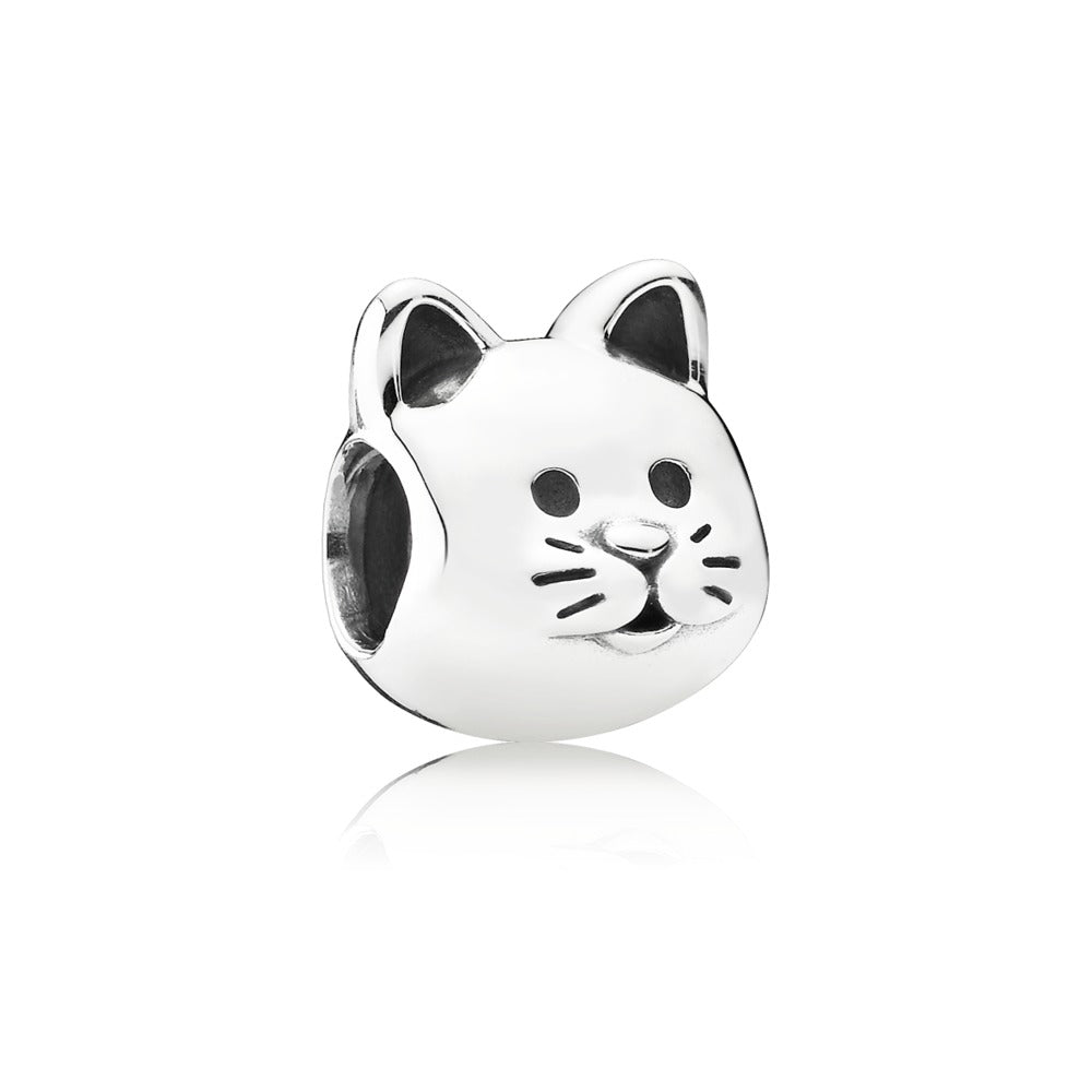 Kitty face charm by Pandora