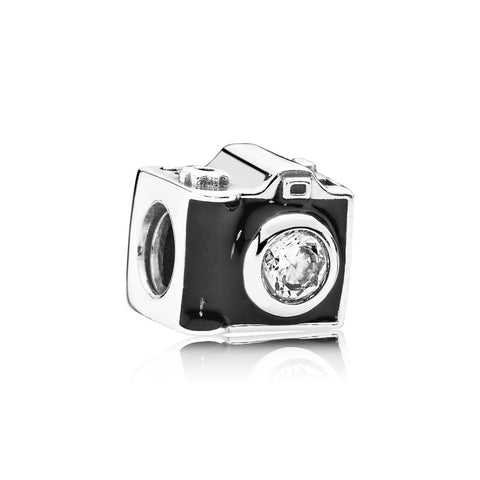 Sentimental Snapshots, Black Enamel & Clear CZ