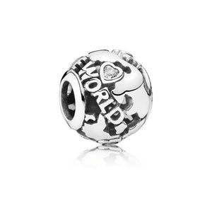 An Around the world charm by Pandora here in Santa Fe.