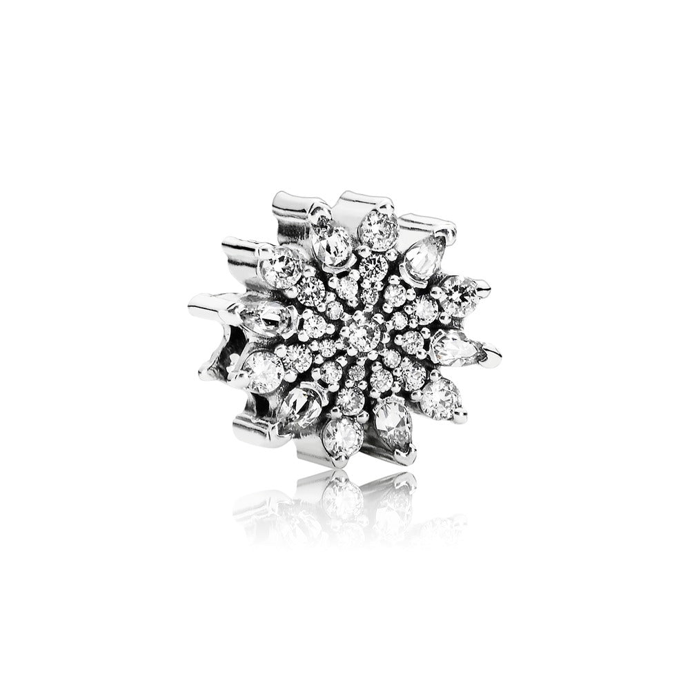 Ice Crystal Clear Cubic Zirconia charm by Pandora.
