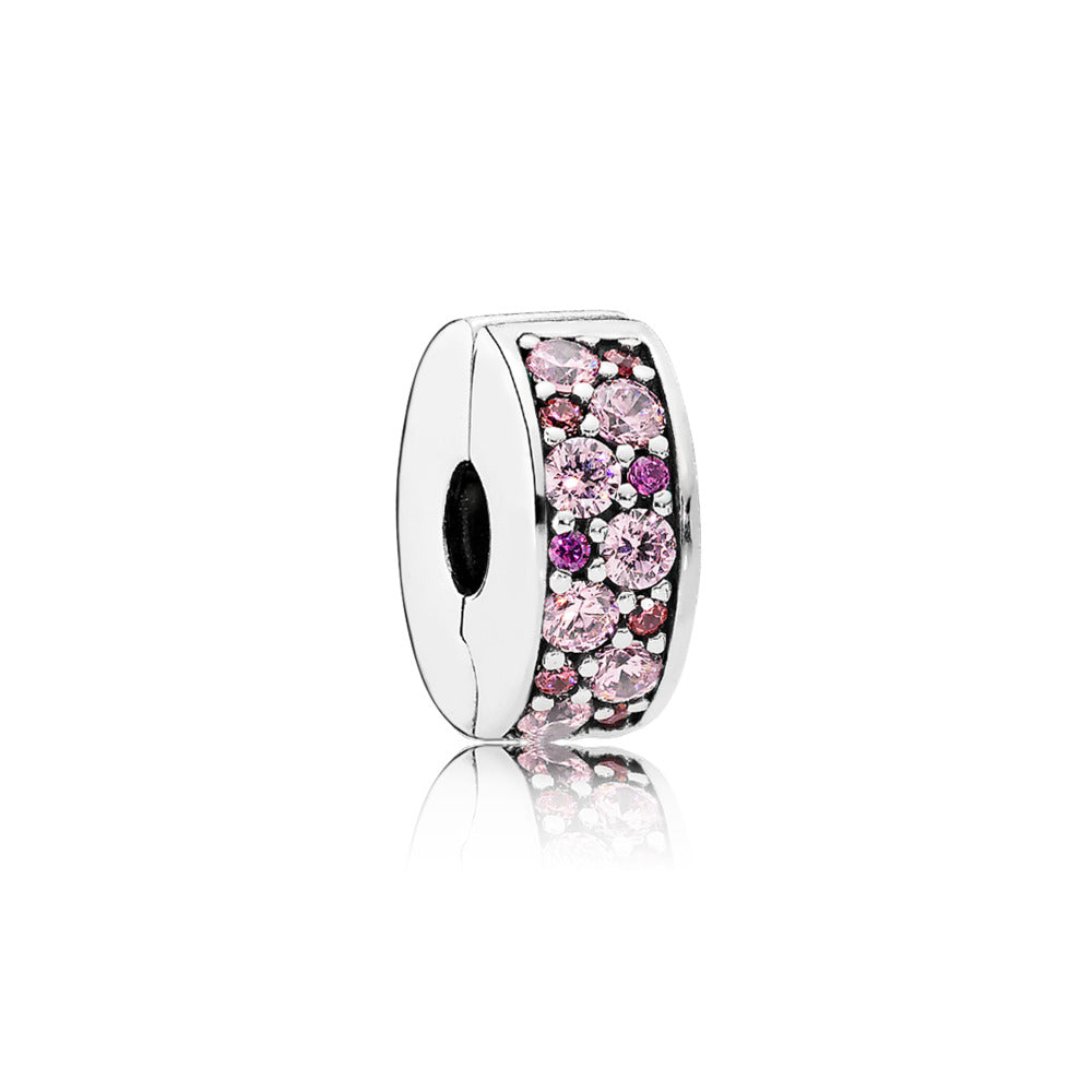 Mosaic Shining Elegance, Fancy Pink & Fancy Purple CZ
