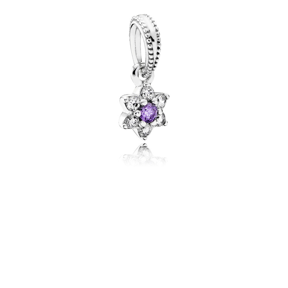 Dangle forget me not charm by Pandora
