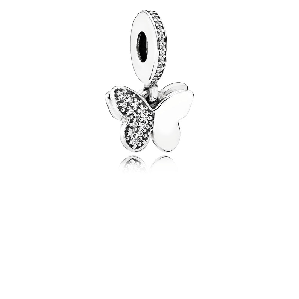 Dangle Butterfly charm by Pandora