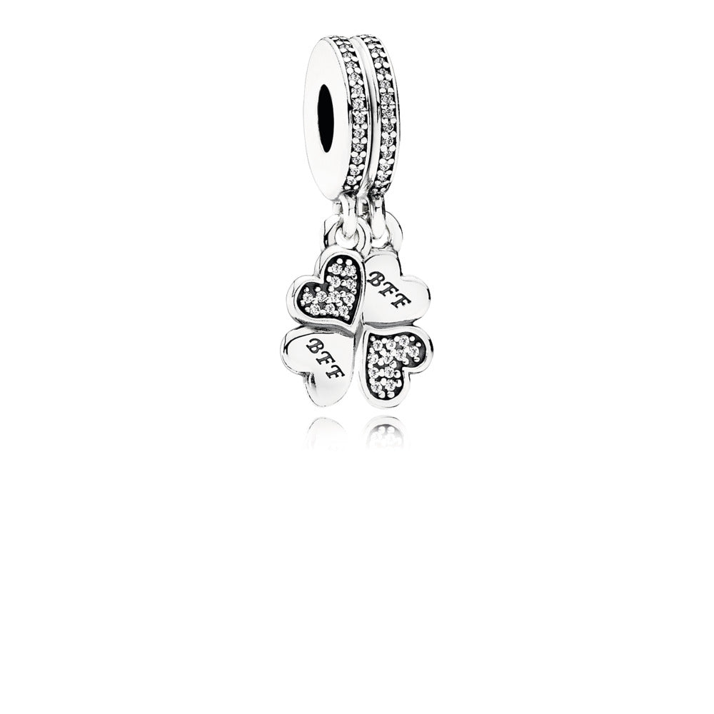 Best friends forever dangle charm by Pandora.