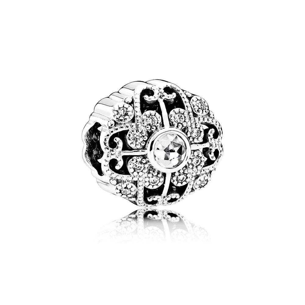 A Fairytale bloom charm by Pandora here in Santa Fe.