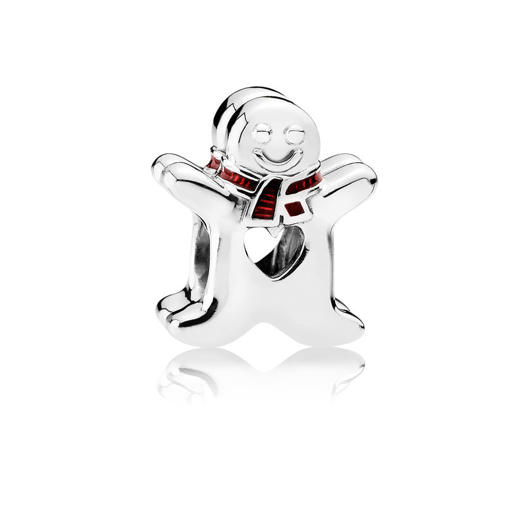 Sweet Gingerbread Man Charm