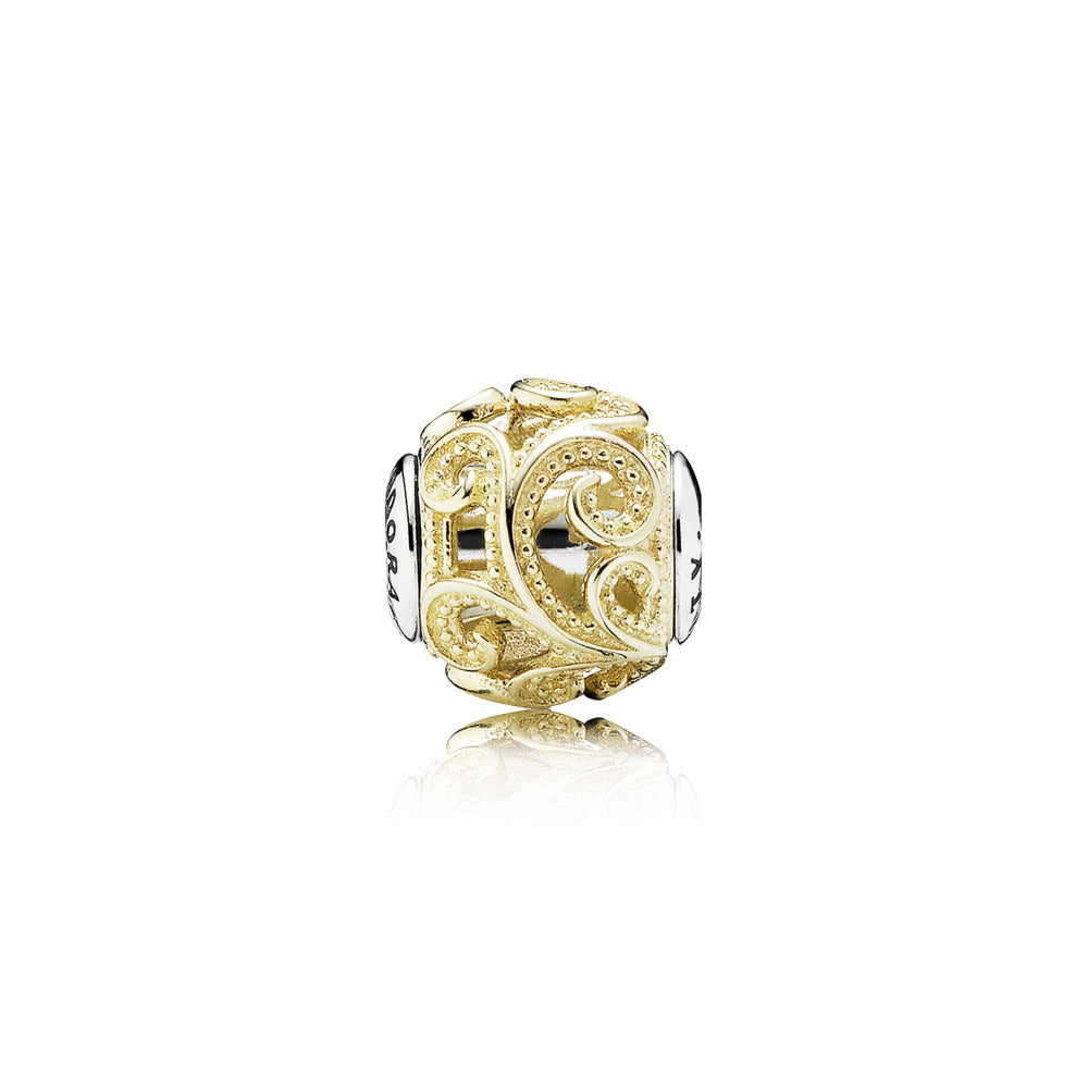 A charm titled creativity by Pandora.