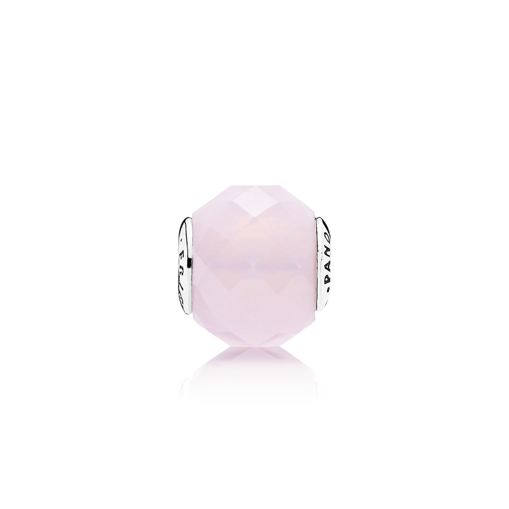 PANDORA ESSENCE COLLECTION Charm Friendship with Opalescent Pink Crystal