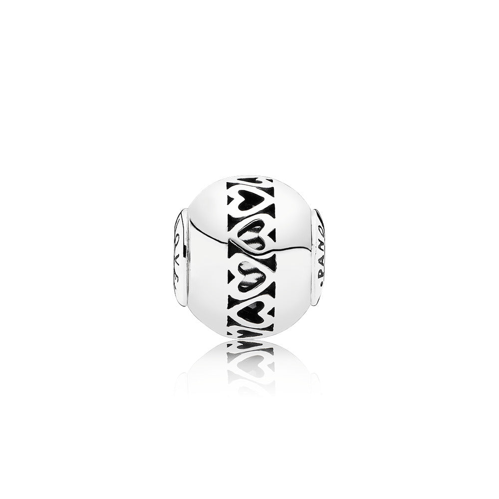 PANDORA ESSENCE COLLECTION Charm Love with Heart Detail