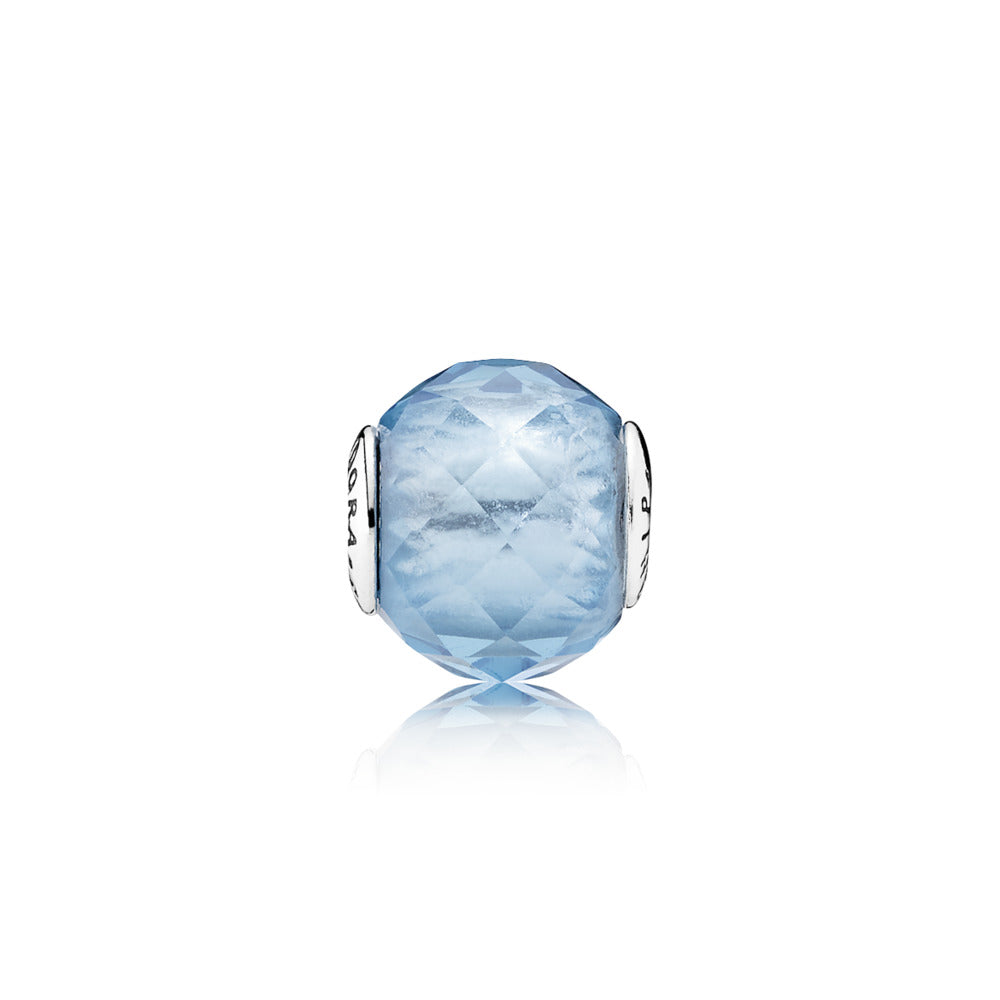 PANDORA ESSENCE COLLECTION Charm Friendship with Sky-Blue Crystal