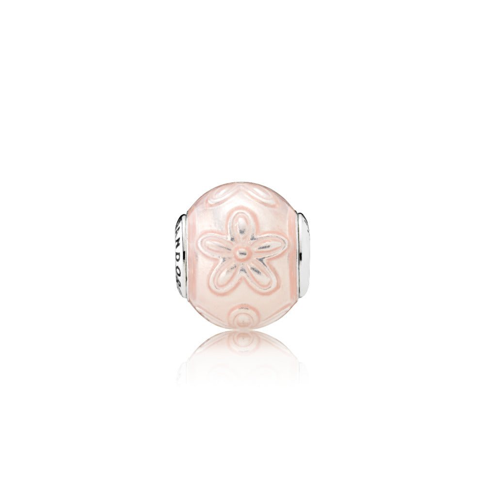 HAPPINESS, Transparent Cream Pink Enamel