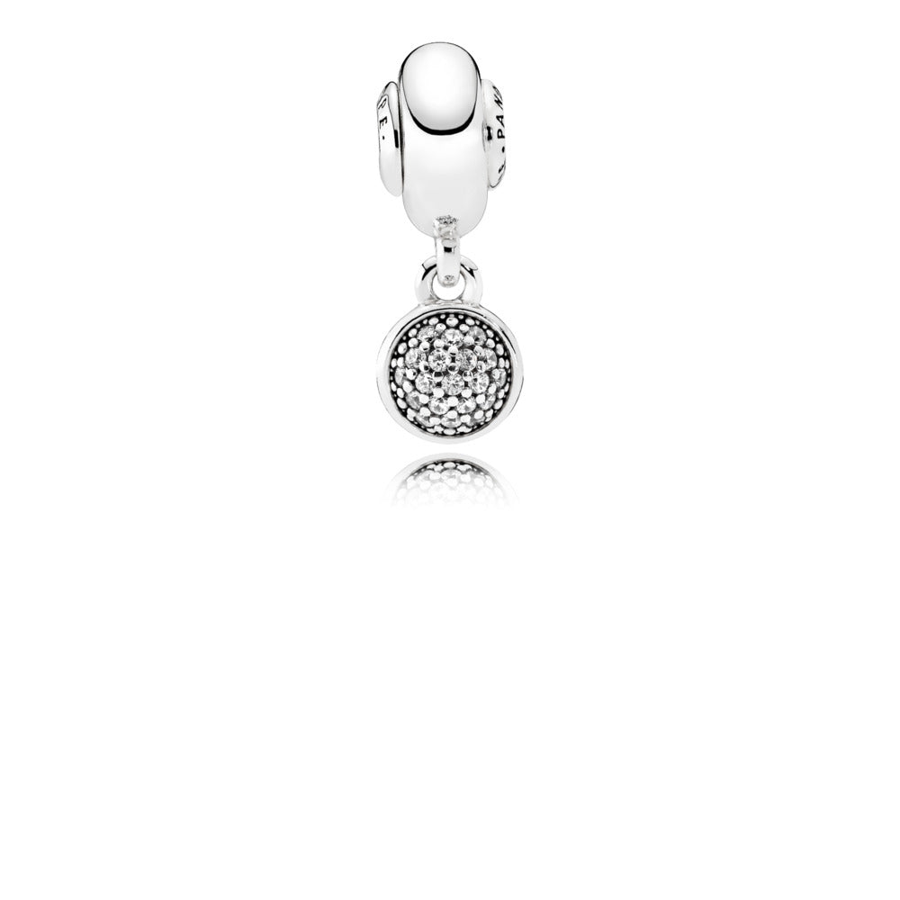 A hope pendant charm by Pandora