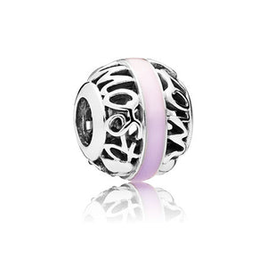 Degrees of love mixed enamel charm by Pandora.
