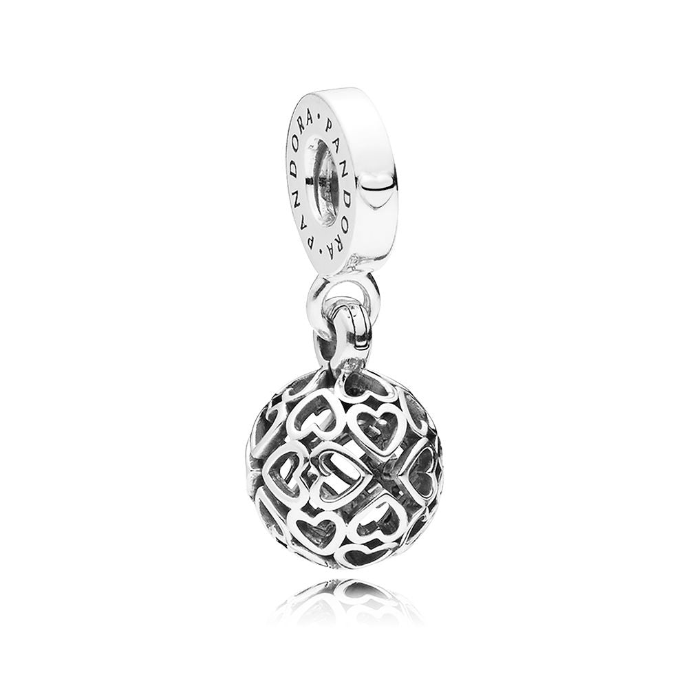 HARMONIUS HEART DANGLE CHARM