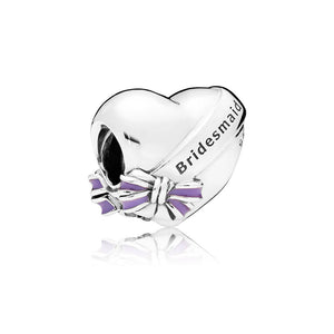 Bridesmaid charm by Pandora.