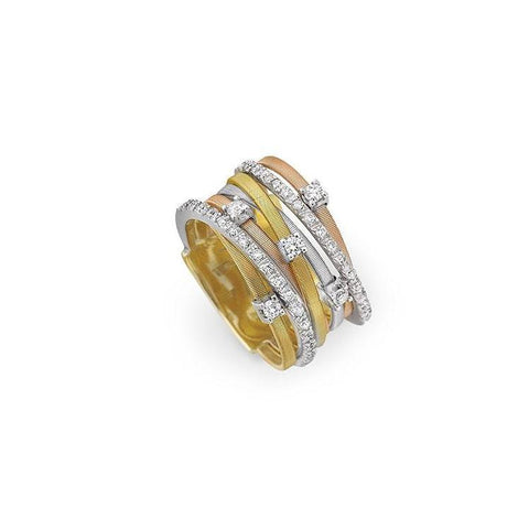 An 18k Diamond Ring by Marco Bicego brings it to Santa Fe Jewelry.