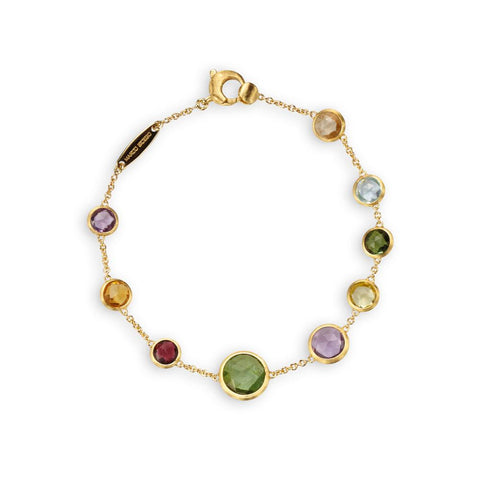 A Mixed Gemstone Bracelet part of the Jaipur collection by Marco Bicego Santa Fe Jewelry.