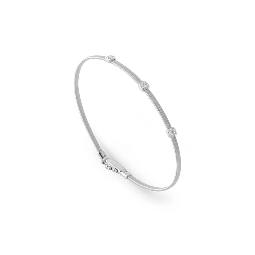 A beautiful Marco Bicego white gold bracelet part of the Masai collection Santa Fe Jewelry.