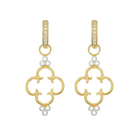 18k Gold Earrings Jude Frances