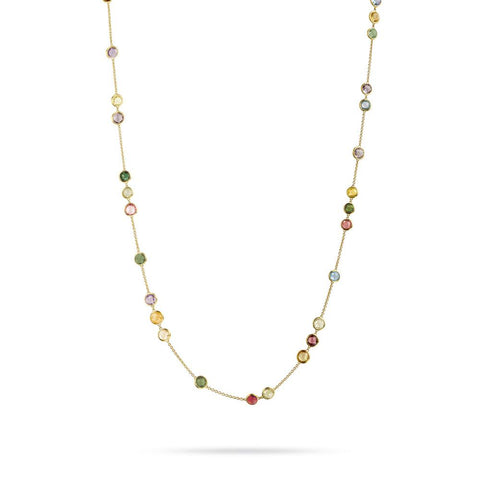 A Mixed Gemstone necklace by Marco Bicego Santa Fe Jewelry.