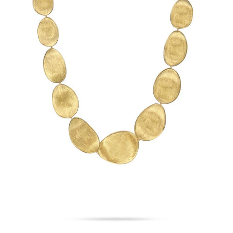 Mother of Pearl Lunaria Necklace by Marco Bicego Santa Fe Jewelry.