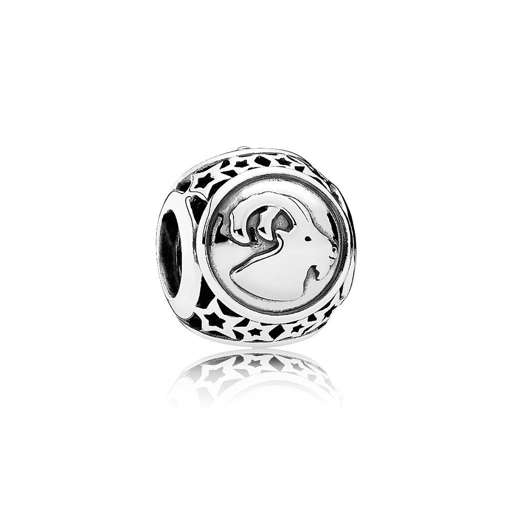 An aries astrology charm by Pandora.