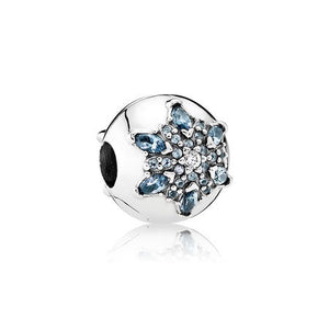 Crystalized Snowflake bead charm by Pandora.