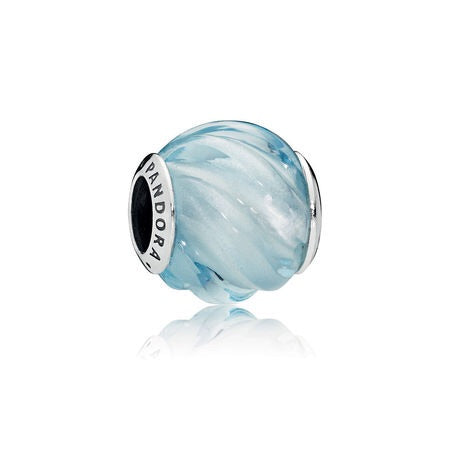 A Blue Ripple Charm by Pandora here in Santa Fe.