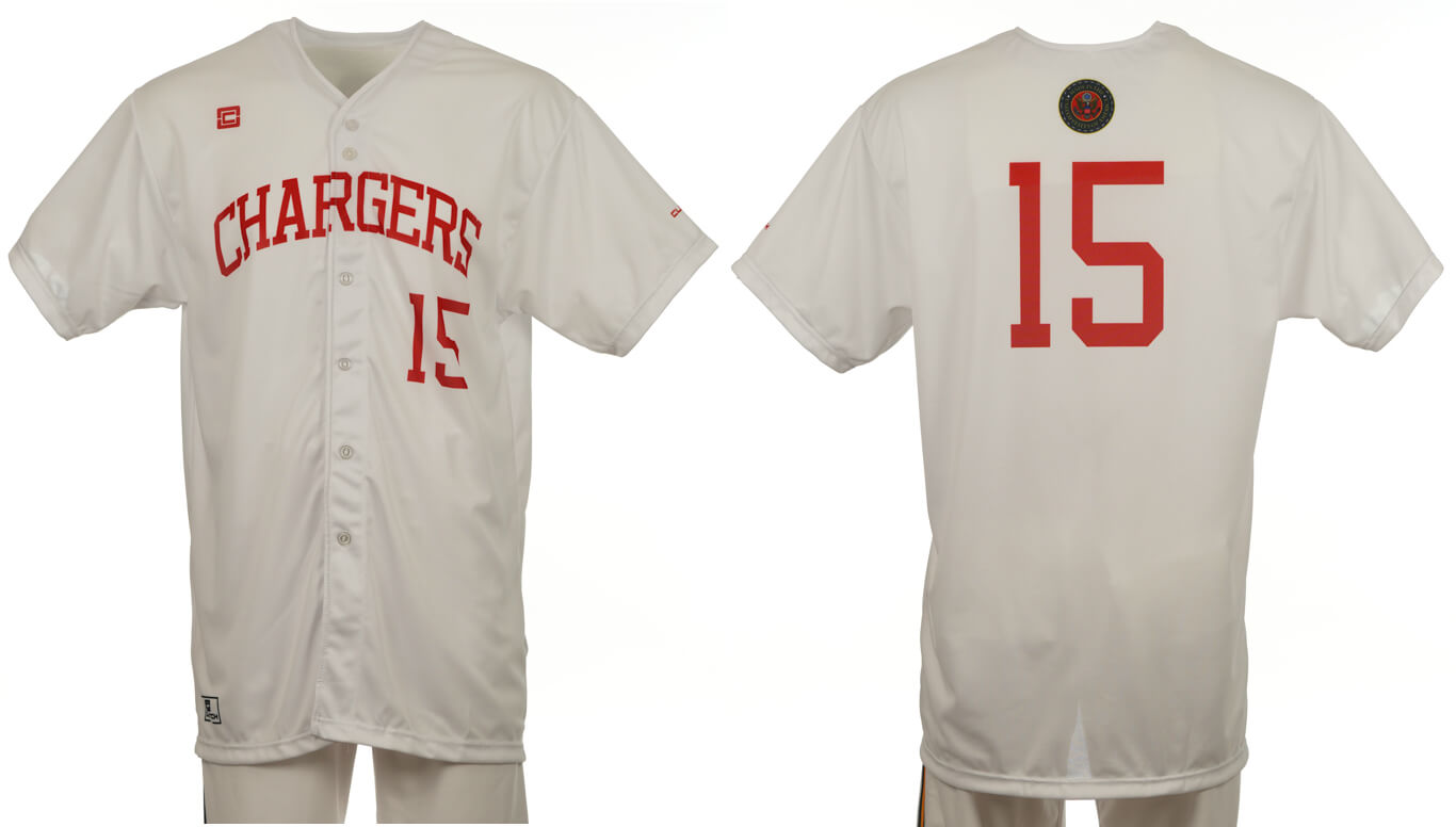 Chargers White 15