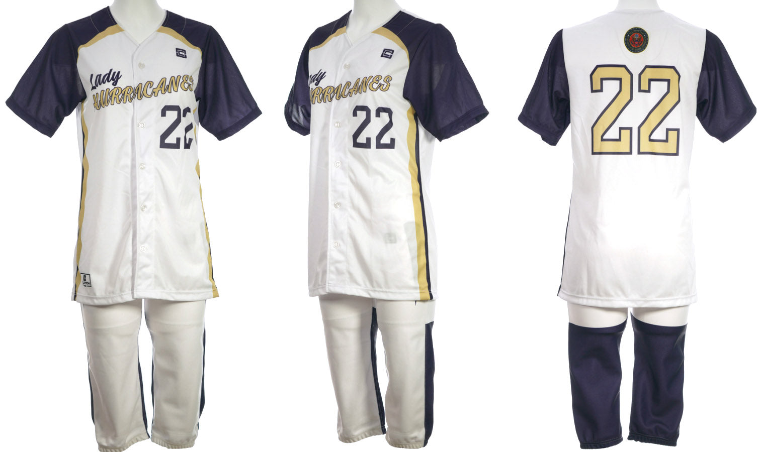 softball white 22