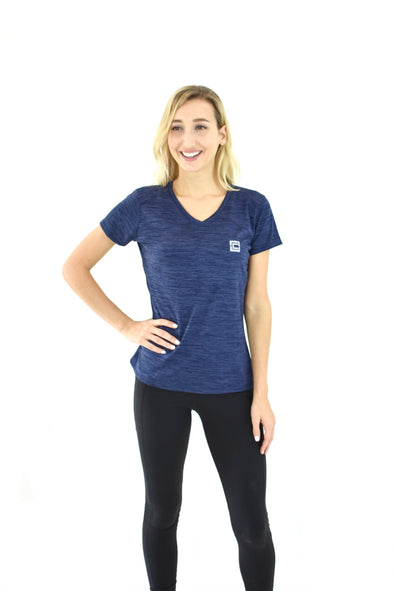 Women's Shadow Tee Navy