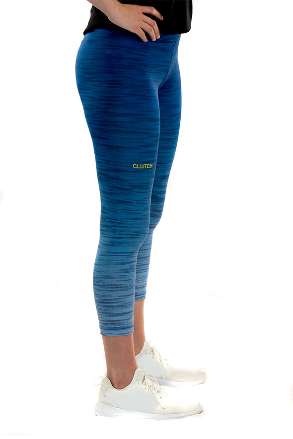 Youth/Junior's Capri Legging Blue