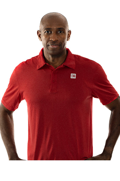 Men's Snag Resistant Polo Scarlet