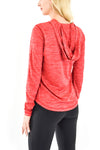 Women's Hooded Tee Red