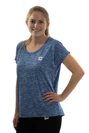 Women's Electric Heather Tee Royal Electric