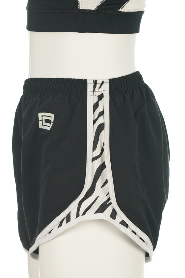 "Women's Accelerate Shorts 4"" Black"