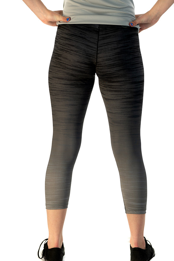 Youth/Junior's Capri Legging Gray