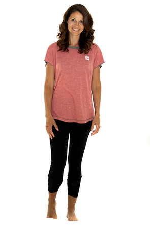 Women's Sensation Tee Red