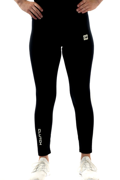 Women's 7/8th Length Leggings  Black