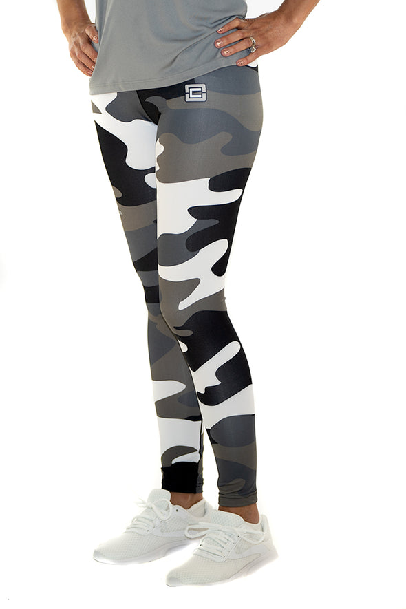 Youth/Junior's Full Length Leggings Camo