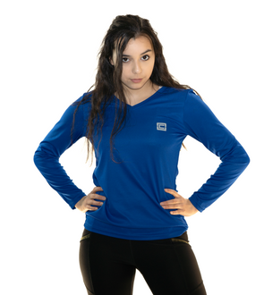 Women's LS Tee Royal