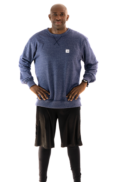 Men's French Terry Sweat Navy